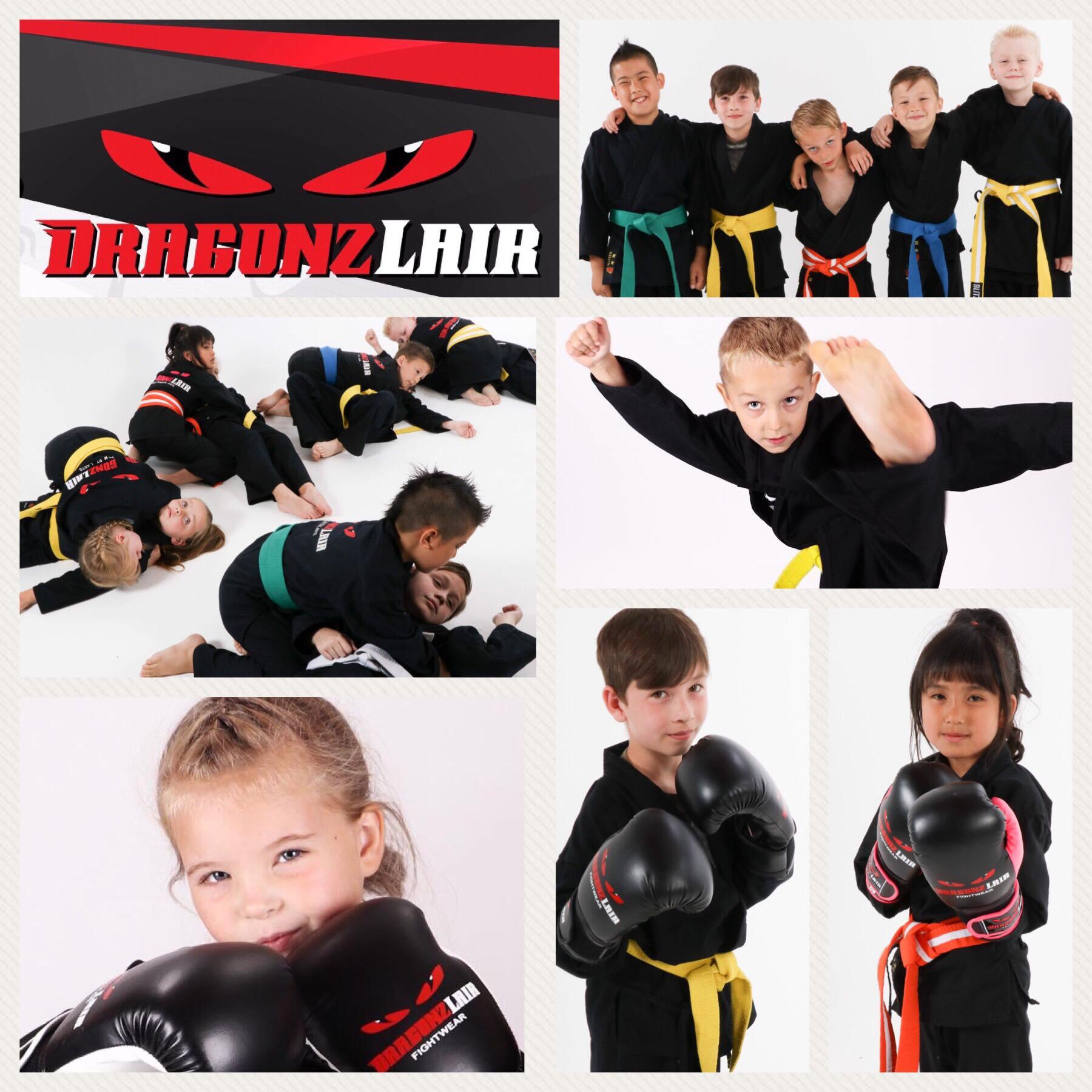 Little Kids Children Dragonz Lair Gym Sittingbourne MMA Martial Arts Kickboxing