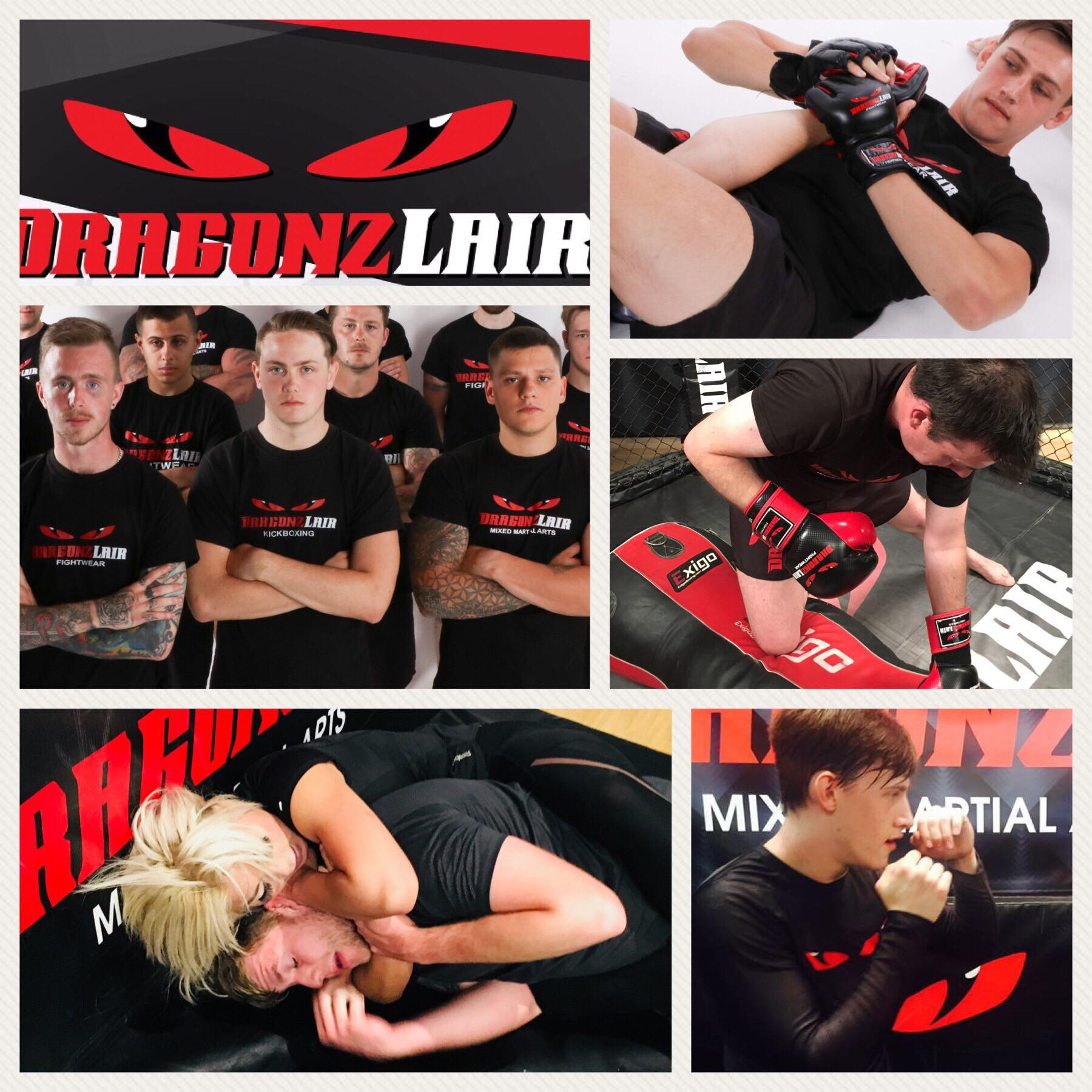 Dragonz Lair Gym Sittingbourne MMA Martial Arts Kickboxing